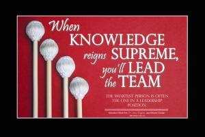 When Knowledge Reigns Supreme